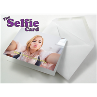 The Selfie card