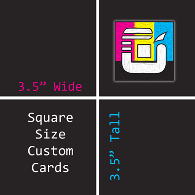 Square Size Custom Card Decks