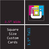 Square Size Custom Card Decks