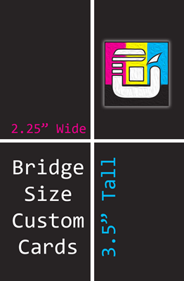 Bridge Size Custom Card Decks