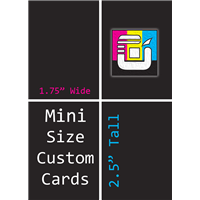Mini Size Custom Card Decks