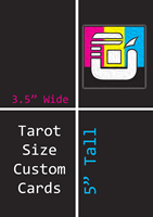 Tarot Size Custom Card Decks