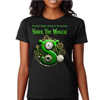 Women's Custom T-Shirts - Back & Pocket Design