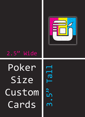 Poker Size Custom Card Decks