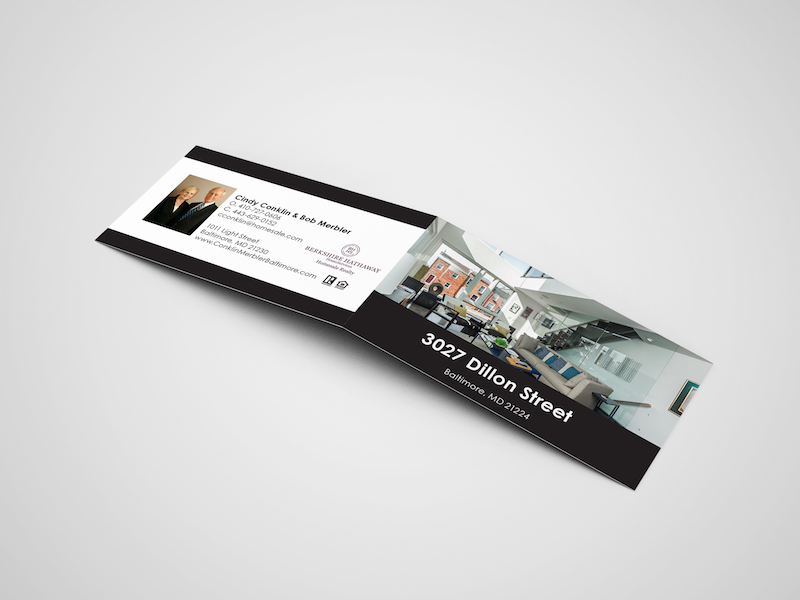 4 page business cards