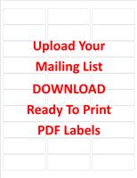 5160 Free PDF Labels