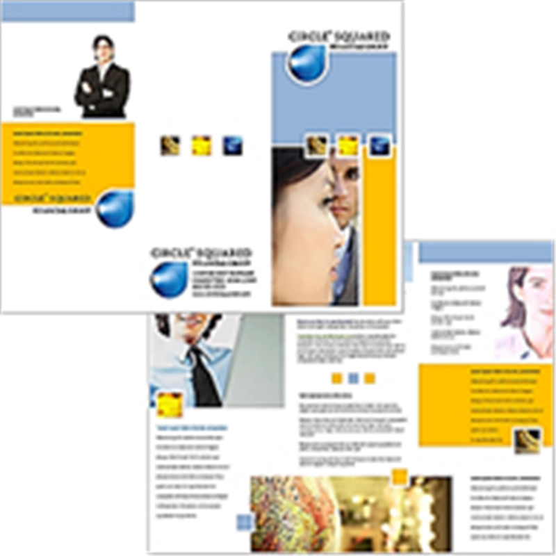 Online brochure design for Online design brochure