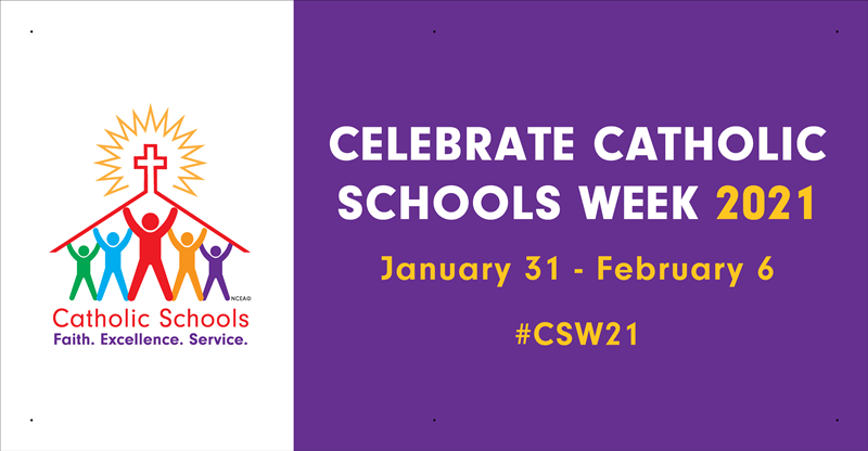 Image result for catholic school week logo 2018