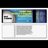 Baseball Tickets - General Admission - Horizontal