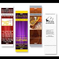 Design It Yourself Full Color Vertical Tickets Gen