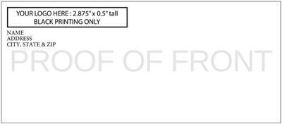 DIY Ticket Envelopes - Black Ink Only