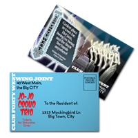 Nightclub Postcards