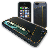 iPhone 5 Slim Leather Case