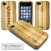 iPhone 5 Bamboo Case with Engraving