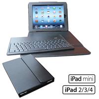 iPad Leather Keyboard Portfolio