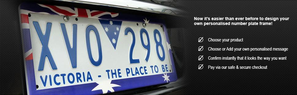 Number Plate Frames for Cars & Bikes - Australian Made