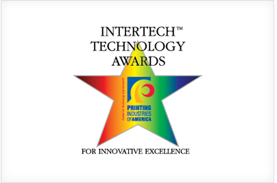 Web to Print Intertech Technology Award Logo