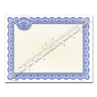 Certificates - Blank with Borders