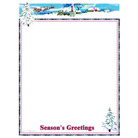 Holiday Stationery & Letterhead