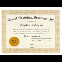 Custom Certificate Imprinting