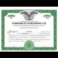 Custom Printed Stock Certificates