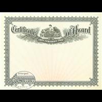 Certificates - Award Certificates