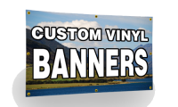 Full Color Banners - Standard Sizes