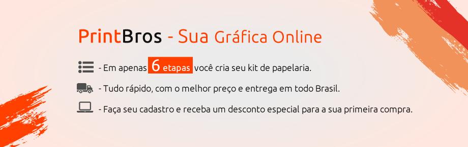 PrintBros - Sua Gráfica Online