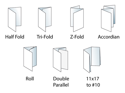 11x17 half fold brochure template - brochures