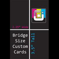 Bridge Size Custom Card Decks