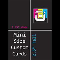 Mini Size Custom Card Decks