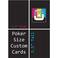 Poker Size Custom Card Decks