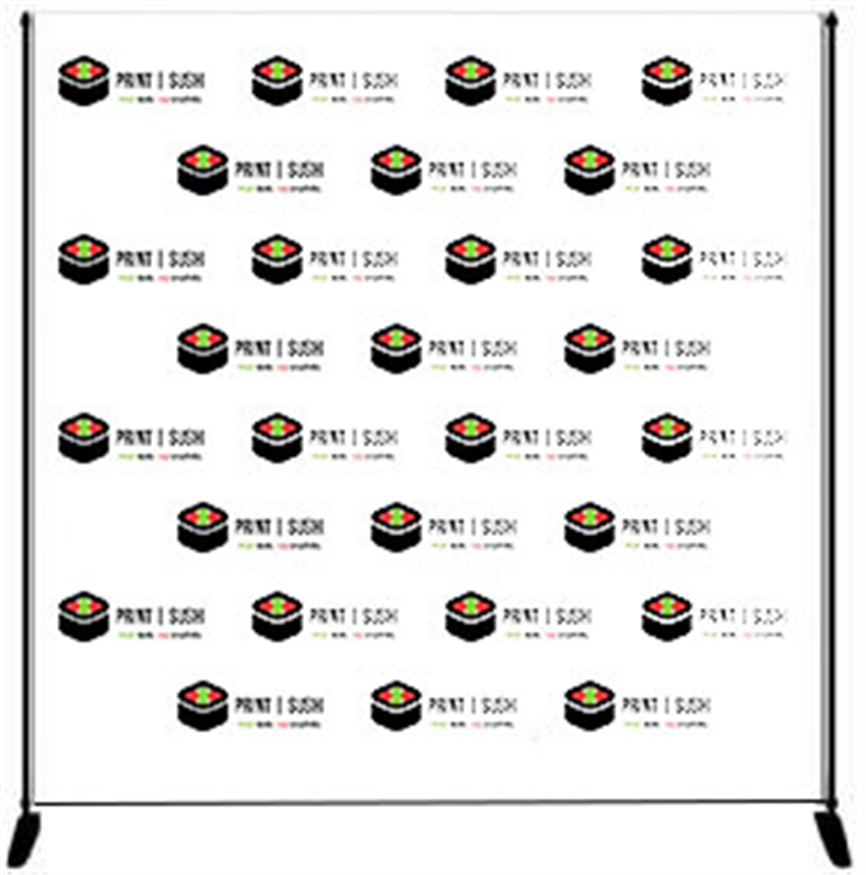 step and repeat banner printing. Black Bedroom Furniture Sets. Home Design Ideas